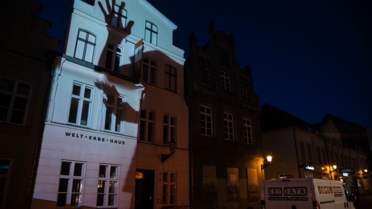 "Projection Mapping Workshop at ""Lichtcampus Wismar"""