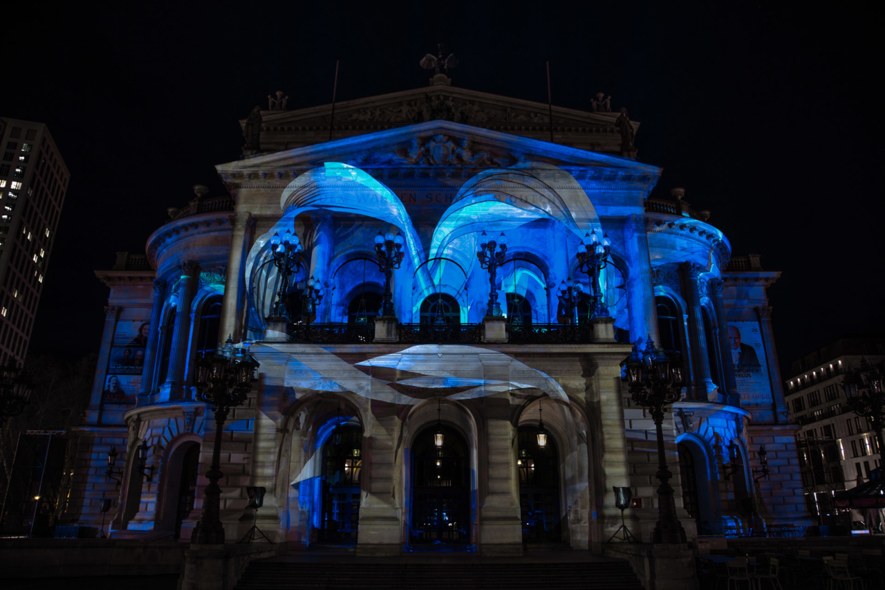 Projection Mapping Romanticism