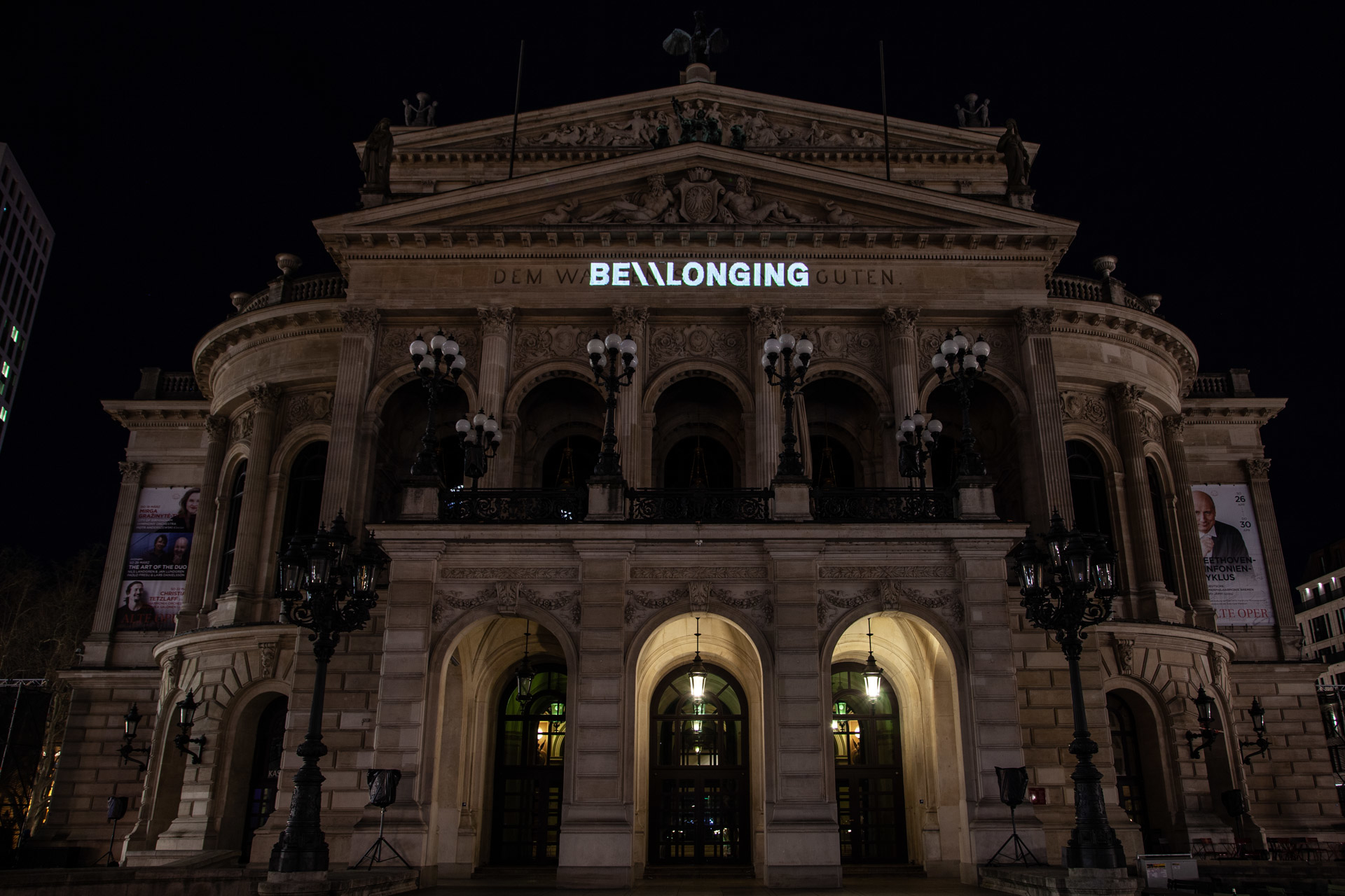 Projection Mapping onto Alte Oper Frankfurt